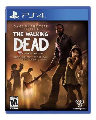 Ps4 Juego The Walking Dead Complete 1st Season