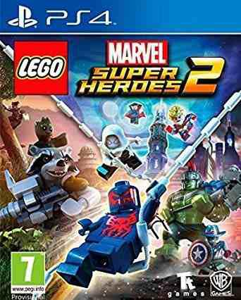 Ps4 - Lego Marvel Super Heroes 2 - Juego Fisi (mercado Pago)