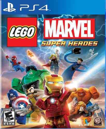 Ps4 - Lego Marvel Super Heroes - Juego Fisico (mercado Pago)