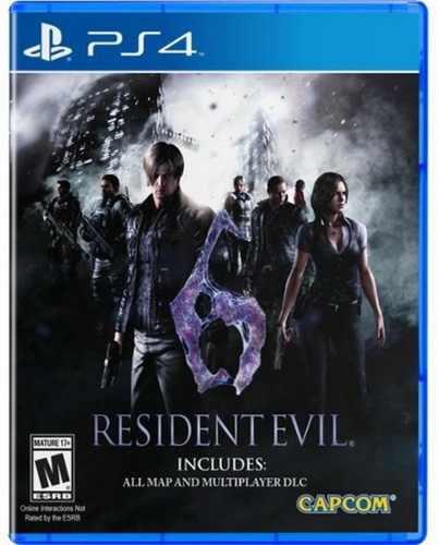 Resident Evil 6 Ps4 Playstation 4 Nuevo Y Sellado Juego