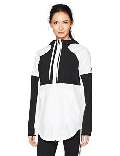 Sudadera adidas Sport Cortavientos Para Mujer Gorra Blanco