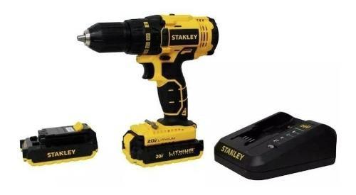 Taladro Atornillador 20v + 2 Baterias Scd20c2 Stanley