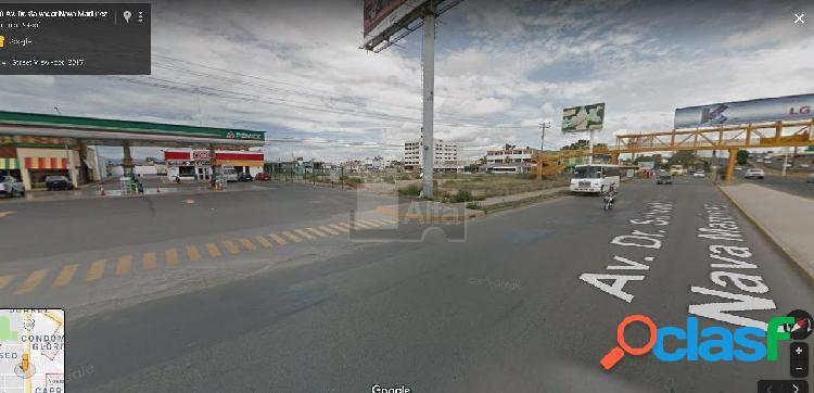 Terreno comercial en renta en El Paseo, San Luis Potosí,