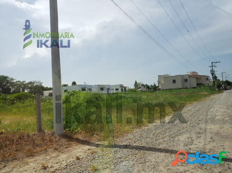 Venta Terreno 750 m² Col. Jardines De Tuxpan Veracruz.,