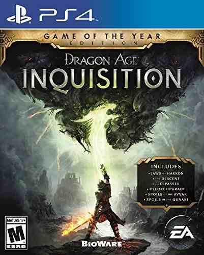Video Juego Dragon Age Inquisition - Game Of The Year