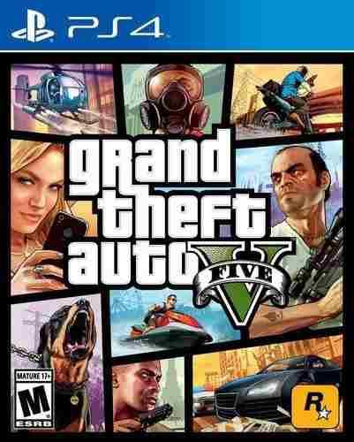 Video Juego Grand Theft Auto V - Playstation 4