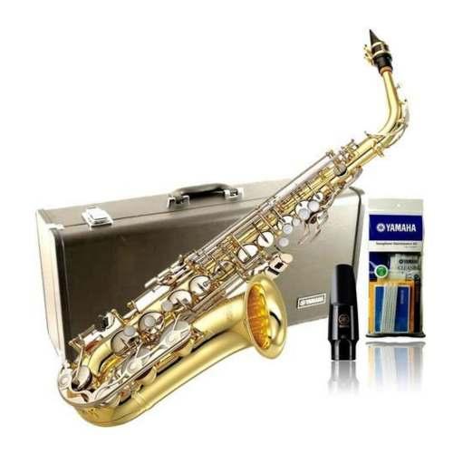 Yamaha Oficial Yas-26 Saxofon Alto Estandar Eb Con Estuche