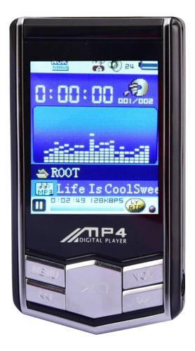 1 Pieza De Reproductores De Mp3 Mp4 De 16gb Radio Con Lcd