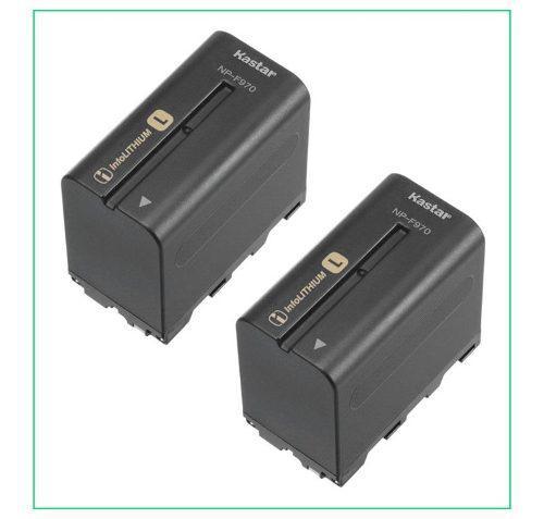 2 Baterias Np-f970 Para Camaras Sony Y Lamparas Led Yongnuo