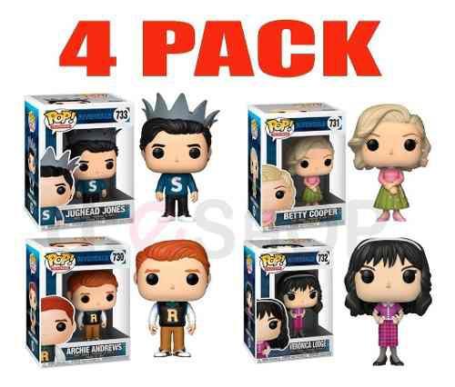 4 Pack Funko Pop Riverdale Tienda Oficial 100% Original