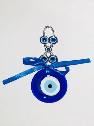 Amuleto Ojo Turco Grande Proteccion 8 Cm Diametro Vidrio