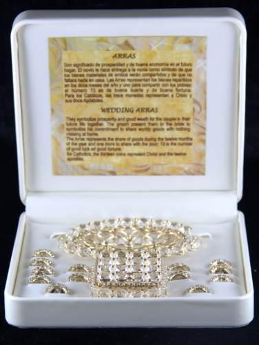 Arras Chapa De Oro Diamantadas E1