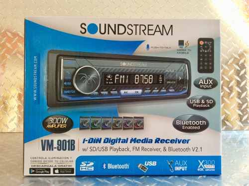 Auto Estereo Soundstream Vm-901b Bluetooth Multicolor Usb Sd