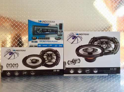 Auto Estereo Soundstream Vm-901b Bluetooth Usb Sd Fm