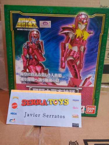 Bandai - Figura De Mermaid Thetis Myth Cloth Dam Saint Seiya
