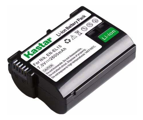 Batería Genérica En-el15 Para Nikon D7000 D7100 D750 D800