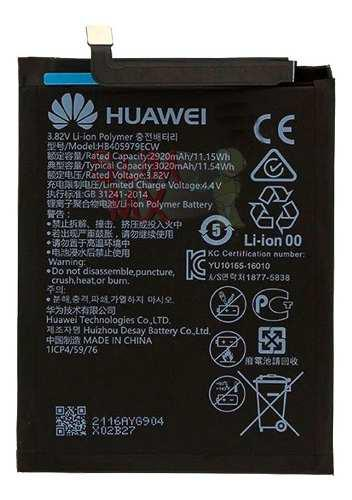 Bateria Huawei Y5 Pro, Y6 Pro 2017 Hb405979ecw G Elite Plus