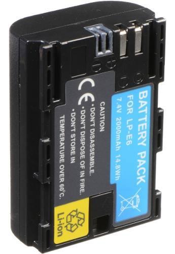 Bateria Lp-e6 Canon Eos 5d Mark Ii Iii 6d 7d 60d 70d Xc10