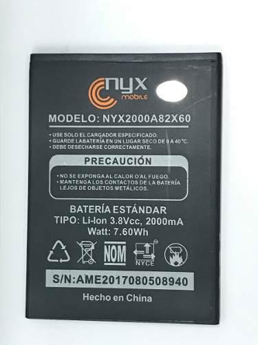 Bateria Pila Nyx Rex 2000 Mah Nueva Nyx2000a82x60 Nyx Alter