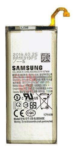 Bateria Pila Samsung J6 J600 J8 A6 A600 2018 Eb-bj800abe
