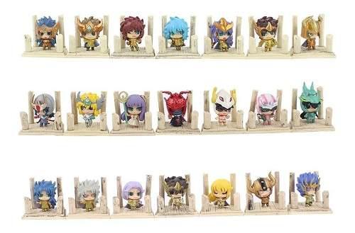 Caballeros Del Zodiaco Saint Seiya 21 Figuras Envio Gratis