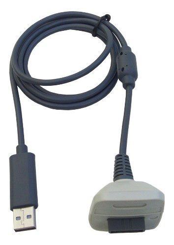 Cable De Carga Y Juega Para Pila Bateria De Control Xbox 360