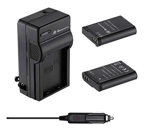 Cargador + 2 Baterias En-el23 Nikon Coolpix P600