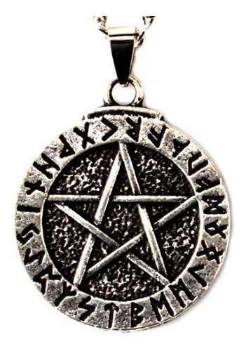 Collar Celta Pentagrama Runas Wicca Envío Gratis