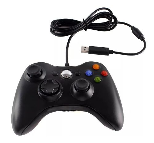 Control Xbox 360 Y Pc Windows Gamepad Alambrico-envio Gratis