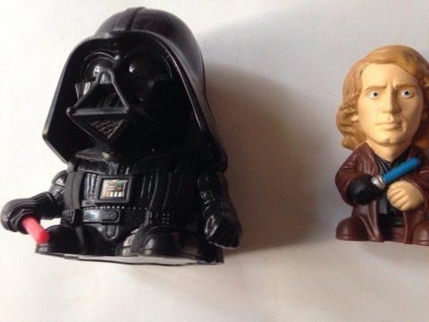 Darth Vader Anakin Star Wars Burguer King Episodio Iii
