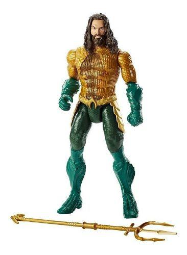 Dc Aquaman Movie Muñeco Aquaman Con Sonidos 30 Cm 2018