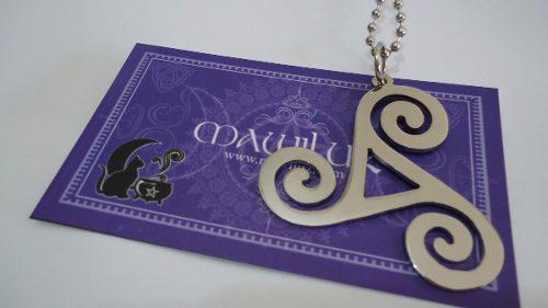 Dije Triskel Mawiluz Wicca Celta Bruja