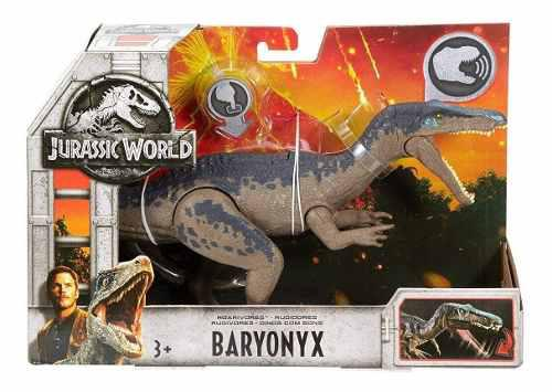 Dinosaurio Jurassic World Baryonix Con Sonido Baryonyx