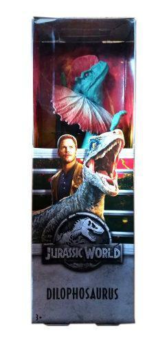 Dinosaurio Jurassic World Dilophosaurus 30 Cm Nuevo