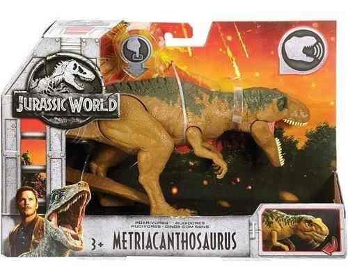 Dinosaurio Jurassic World Metriacanthosaurus Con Sonido