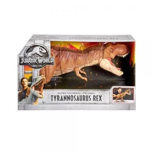 Dinosaurio T Rex Colosal Jurassic World