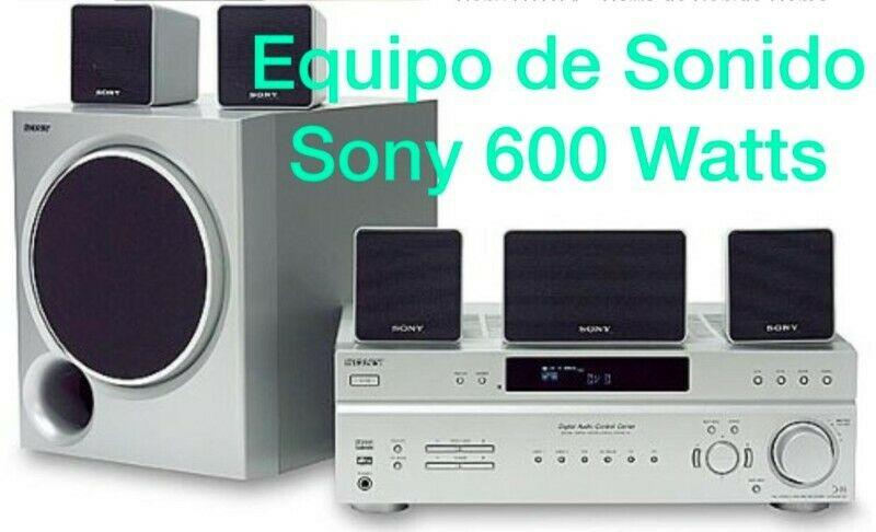 Equipo de Sonido Sony 600 Watts