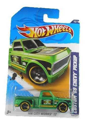 Fermar4020 69 Chevy Pickup R-165 #140 2012 Hot Wheels