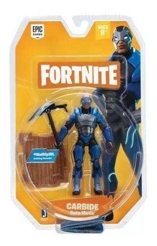Figura De Acción Fortnite Carbide Solo Mode 10cm Original