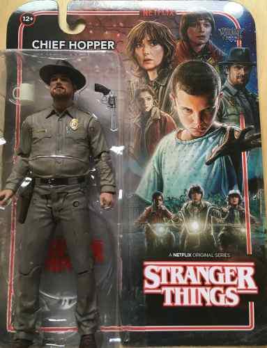 Figura Stranger Things Chief Hopper Netflix Mcfarlane Toys