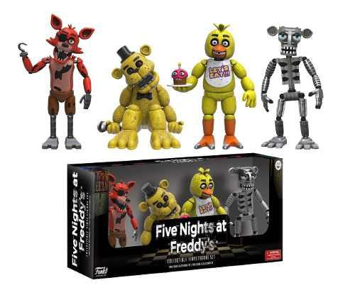 Figuras De Set Five Nights At Freddy's