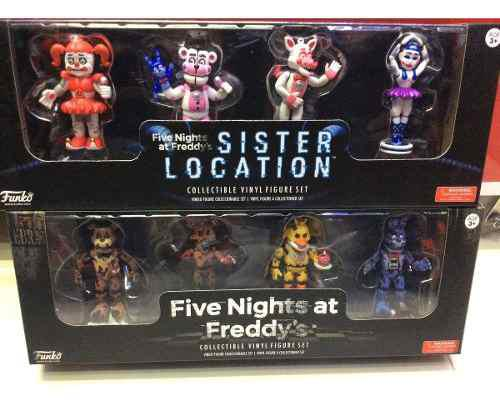 Figuras De Set Five Nights At Freddy's Sister Location