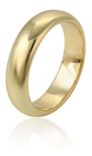 Fina Argolla Oro 14k Lam Matrimonio Estuche