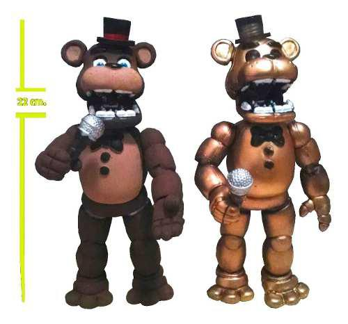 Five Nights At Freddy's Cafe Ó Golden A Elegir 22cm!