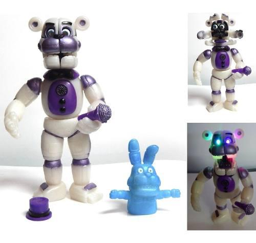 Five Nights At Freddys Figura Funtime Freddy Animatronic Led
