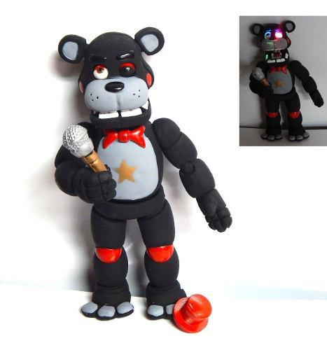 Five Nights At Freddys Figura Lefty Animatronic Con Luz Led