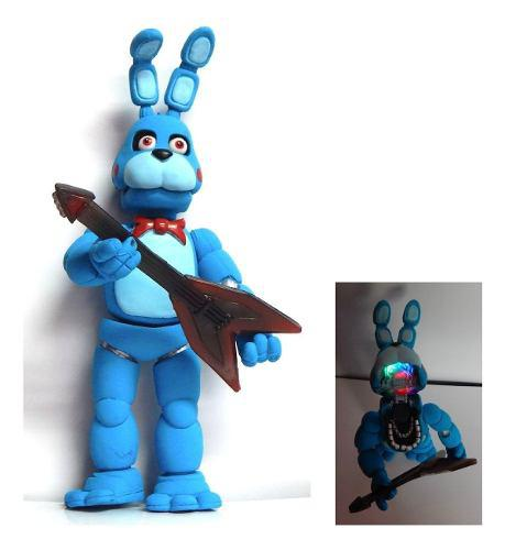 Five Nights At Freddys Figura Toy Bonnie Animatronic Luz Led