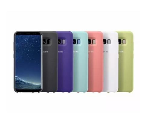 Funda Samsung Silicon + Mica S7 Edge S8 S9 S10 Note