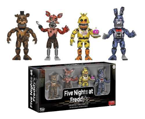 Funko Collectible Vinyl Figure Set Five Nights At Freddy's