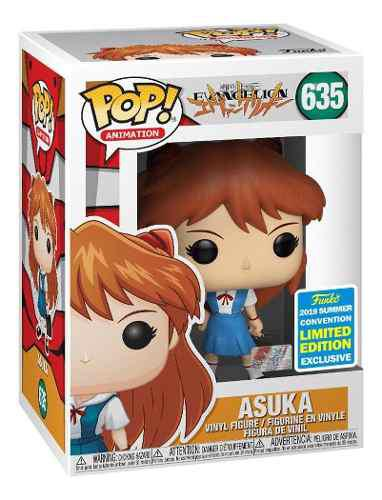 Funko Pop Asuka Sdcc 2019 Exclusivo Ex